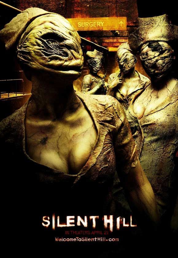 Silent Hill 11x17 Movie Poster 2006 Silent Hill Movies Silent