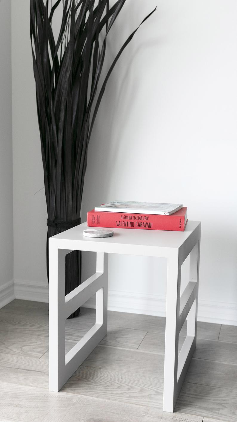 Narrow Coffee Side Table Living Room Furniture End Table Etsy Modern Ic Mekanlar Ic Mekanlar Modern [ 1411 x 794 Pixel ]
