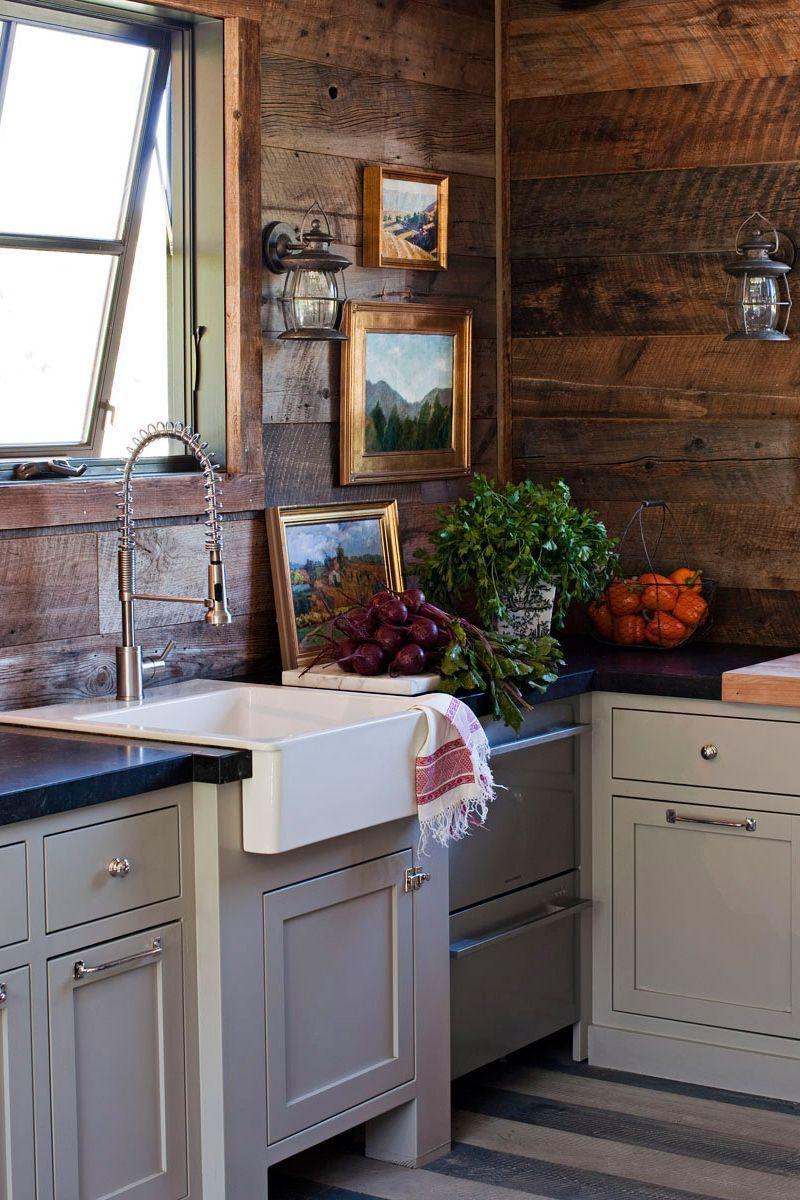 55 Chic Kitchen Backsplash Ideas That Will Transform The Entire Room Country Kitchen Designs Rustic Kitchen Barn Kitchen