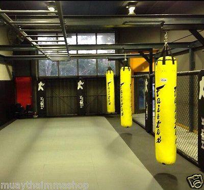 FAIRTEX HEAVY BAGBANANA HB6 6 FT YELLOW GENUINE MUAY THAI BOXING MMA UN-FILLED