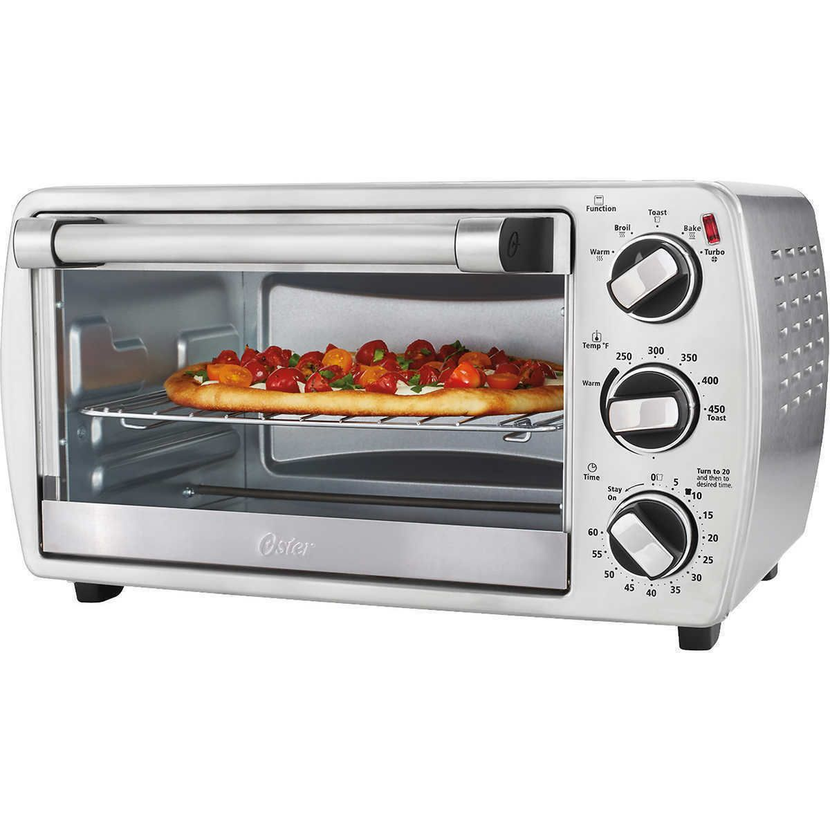 Details About Oster 6 Slice Convection Countertop Oven