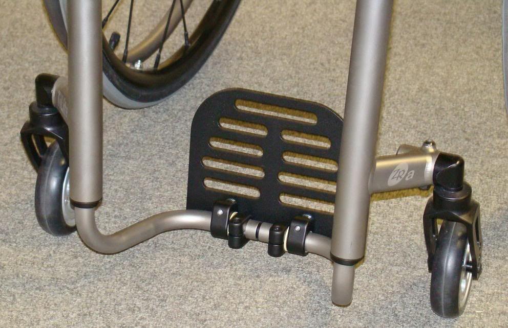 Tilite Titanium Flip Back Footrest Foot Rest Wheelchair Accessories Wheelchair