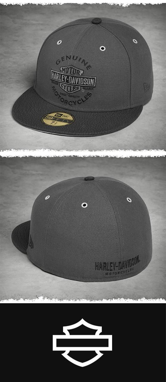 e9b1f8000 Set your sights on timeless style.   Harley-Davidson Men's Genuine Logo  59FIFTY® Cap