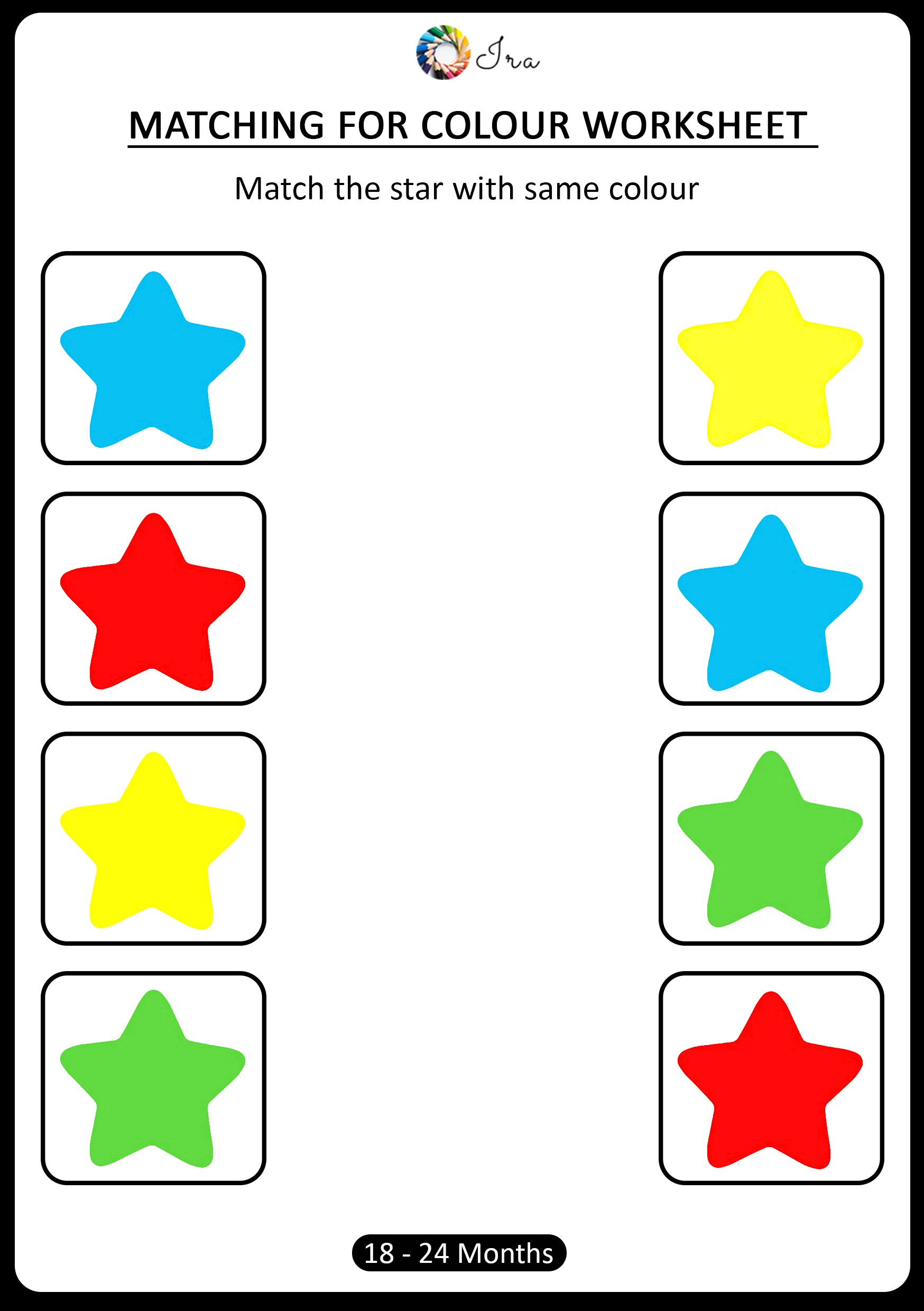 Free Downloadable Matching Colors Worksheets 18 24 Months Ira Parenting Color Worksheets For Preschool Preschool Math Worksheets Free Preschool Worksheets [ 2480 x 1748 Pixel ]