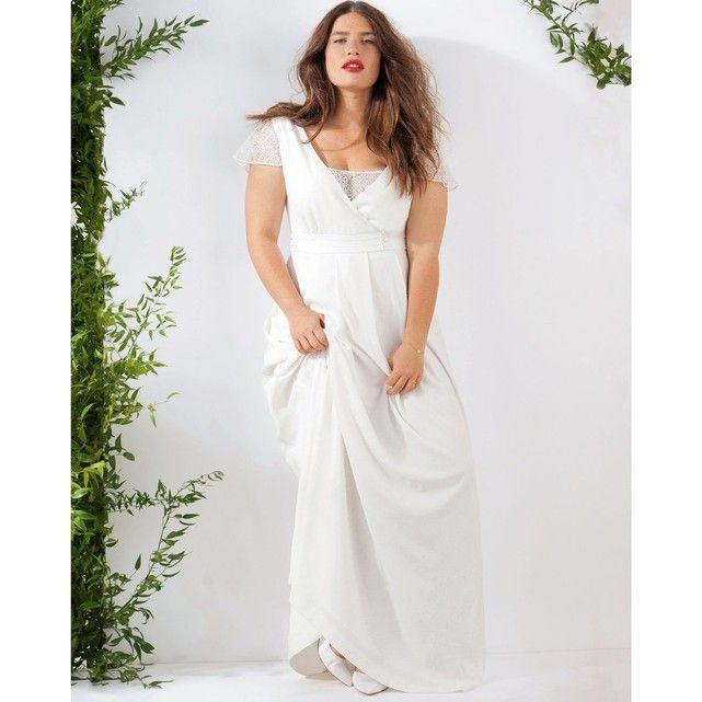 robe longue de mari e grande taille castaluna parfaite pour un mariage boh me au bord de l 39 eau. Black Bedroom Furniture Sets. Home Design Ideas