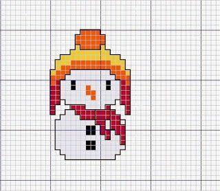 Adornos arbol de navidad en punto de cruz | Manualidades