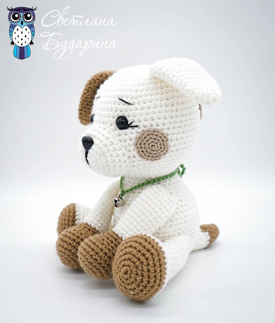 Schema per cagnolino amigurumi - Creativita Organizzata | 1125x960
