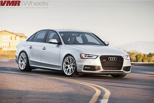. Audi S4 on V810 by VMR Wheels, via Flickr