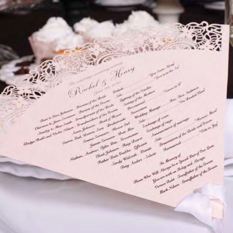 Custom Wedding Favors Your Guests Will Cherish Program Samplesfan