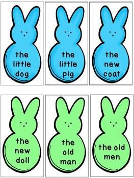 Easter Dolch Sight Word Phrases | Peeps, Sight words and Literacy ...