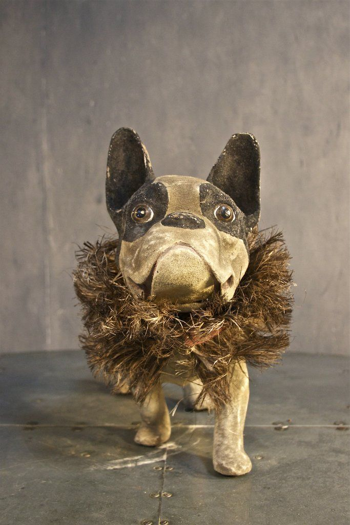"""""""marcel"""" the french bulldog statue Statue, French"""