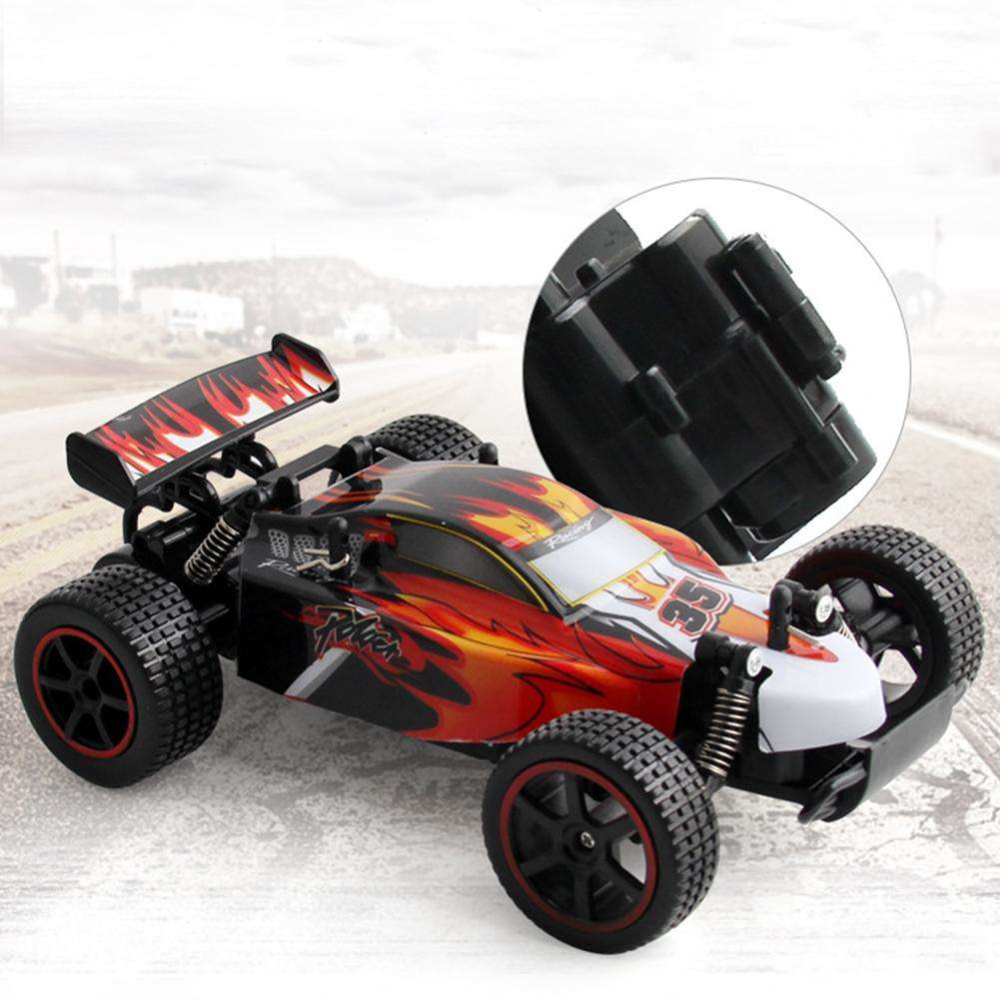 Kids 1 18 Rc Car Model Charging Remote Control Off Road Vehicle Toys Red Car Model Rc Cars Vehicles