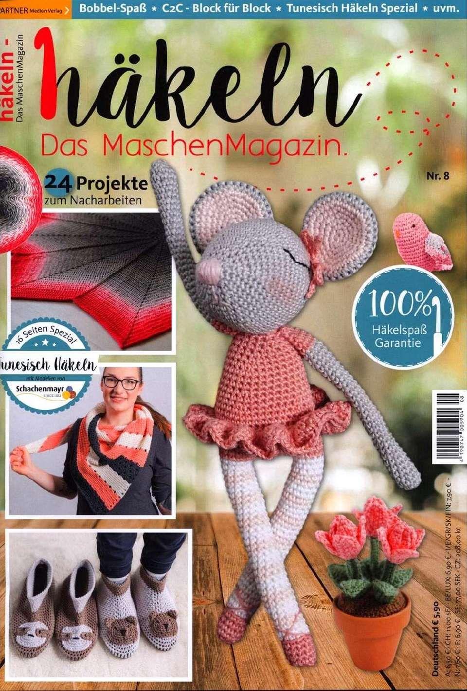 Häkeln Das Maschenmagazin 2018 08 I Zeitschriften Häkelmode
