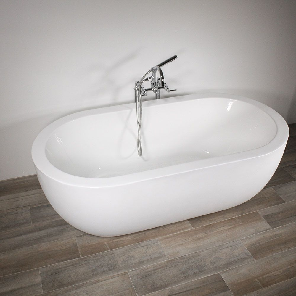Master bedroom with jacuzzi tub  SanSiro SSMOD  u Water Jetted Acrylic Whirlpool Tub and Faucet
