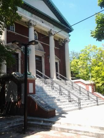 The Impressive Front Steps Of Our Historic Synagogue Synagogue Picture Windows Front Steps