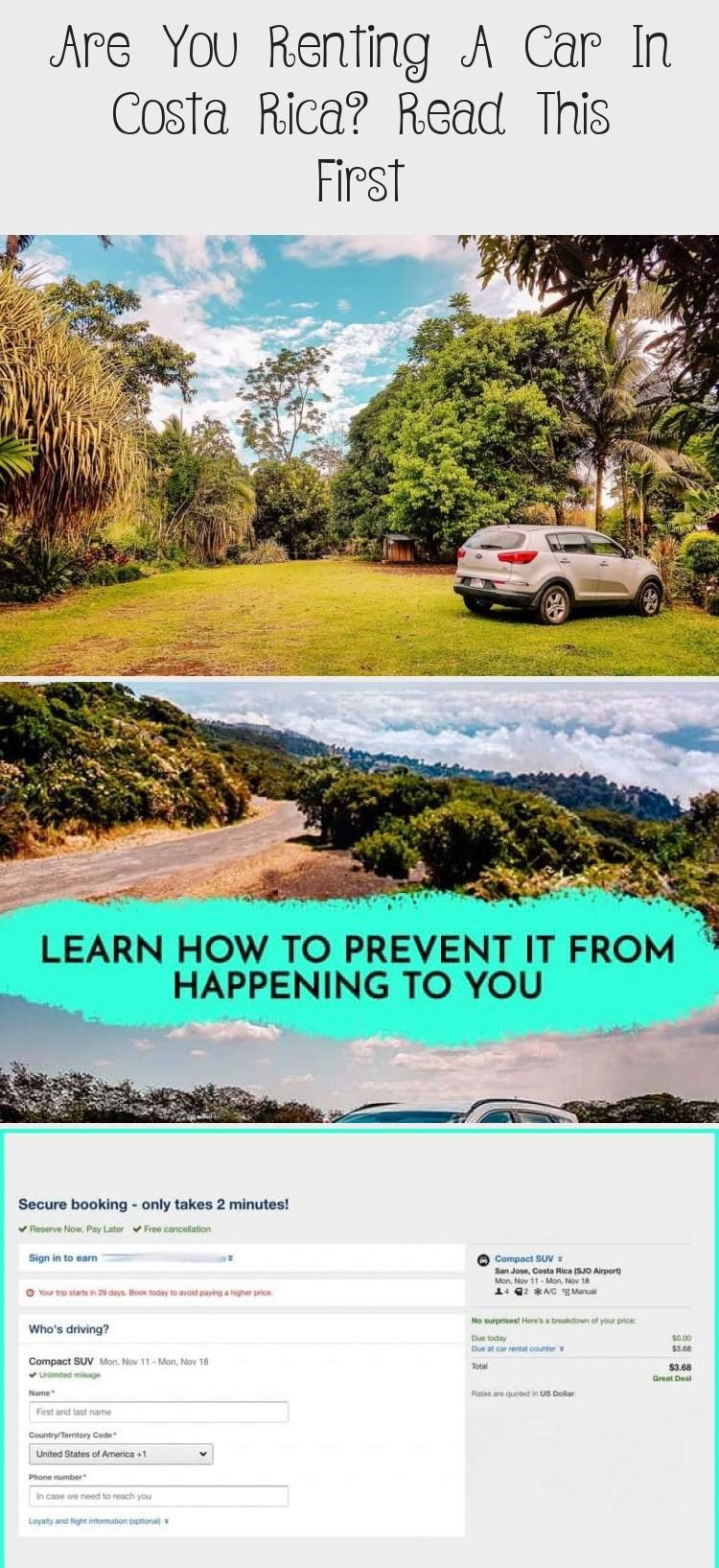 Are You Renting A Car In Costa Rica? Read This First Car