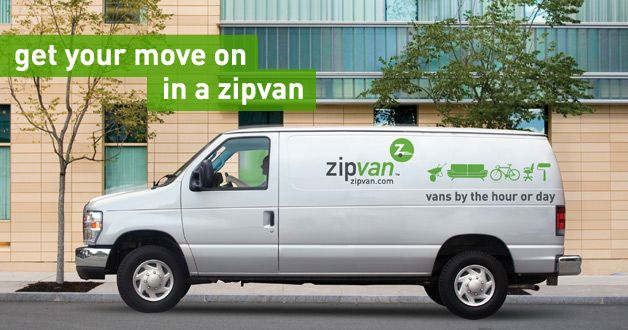 Zipvans In Chicago Apartment Hunting Car Rental Van