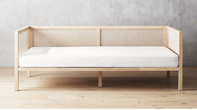 SHOP NOW: Boho natural daybed by CB2, $1,060, cb2.com.