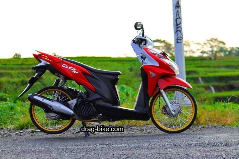 Modifikasi Vario 125 Terbaru Warna Merah Honda Merah Warna