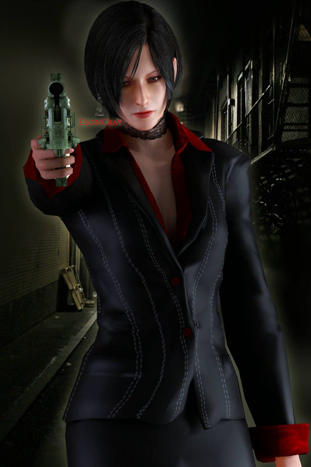 ada wong damnation model update 1 by sywongs adaleon