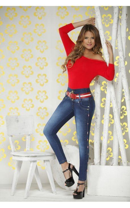 beb1ace8c2 Tienda de Ropa Colombian Jeans Levanta Cola