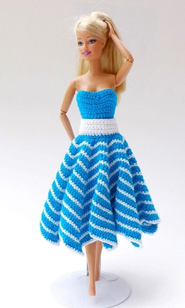 Crochet Tutorials 3 Piece Summer Set Barbie Crochet Inspiration