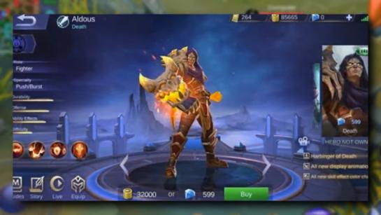 Aldous [Mobile Legends] Mobile legends, Hero, Legend