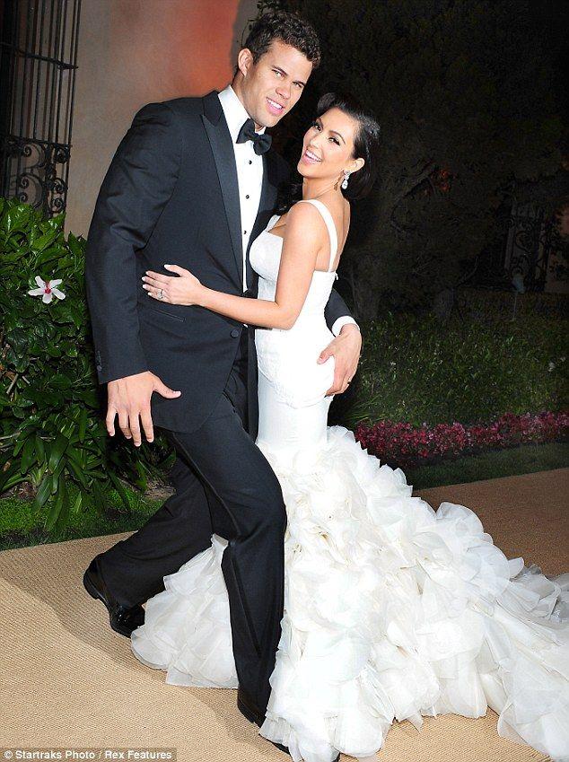 Kim Kardashian Wedding Party Dresses