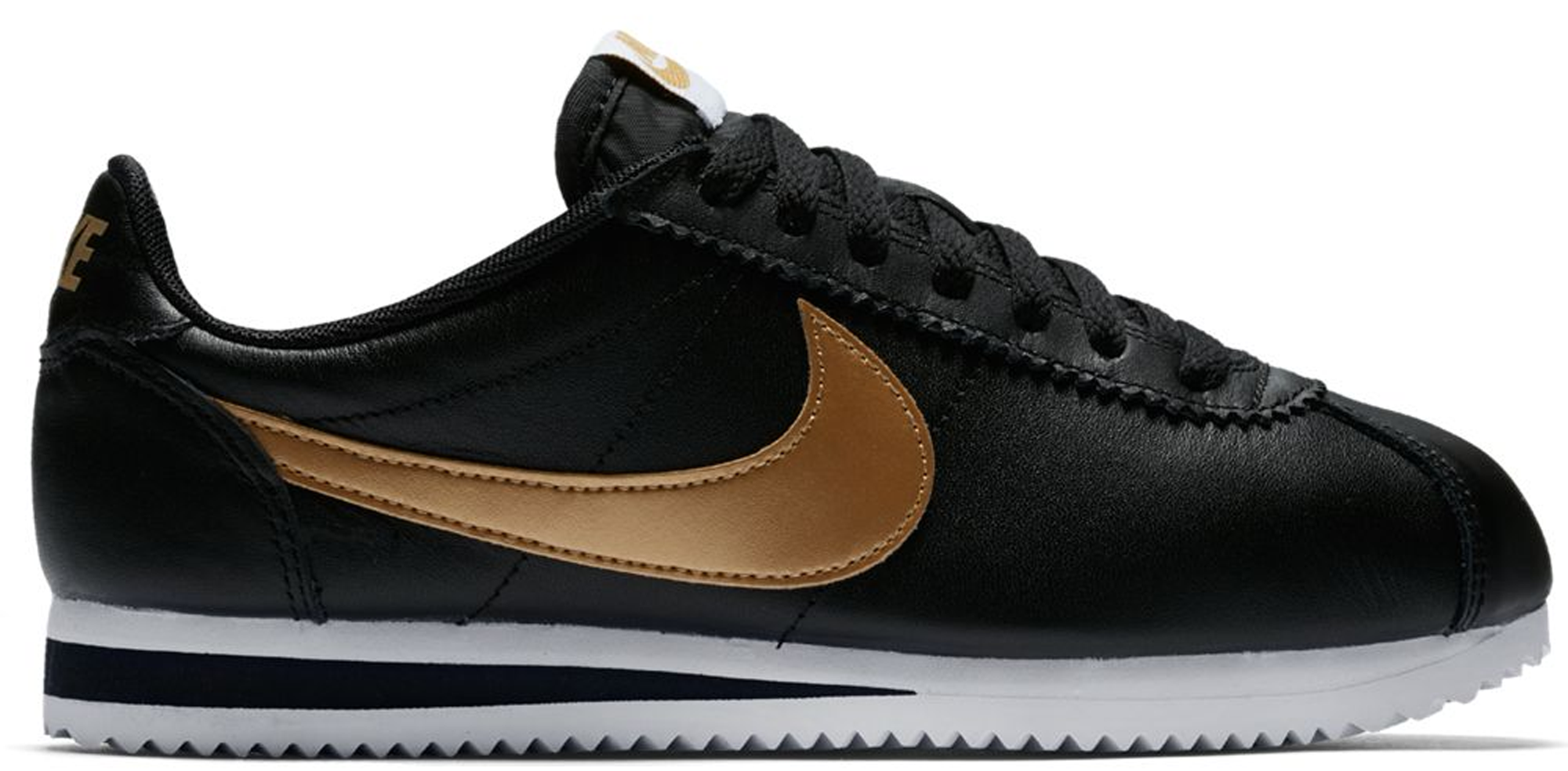 Pre-Owned Nike Cortez Leather Black