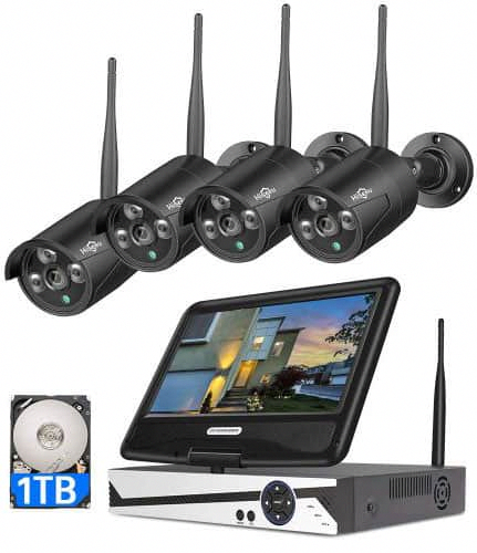 Top 9 Best Outdoor Wireless Security Camera Systems With Dvr Of All Time Wireless Security Camera System Wireless Home Security Systems Security Camera System