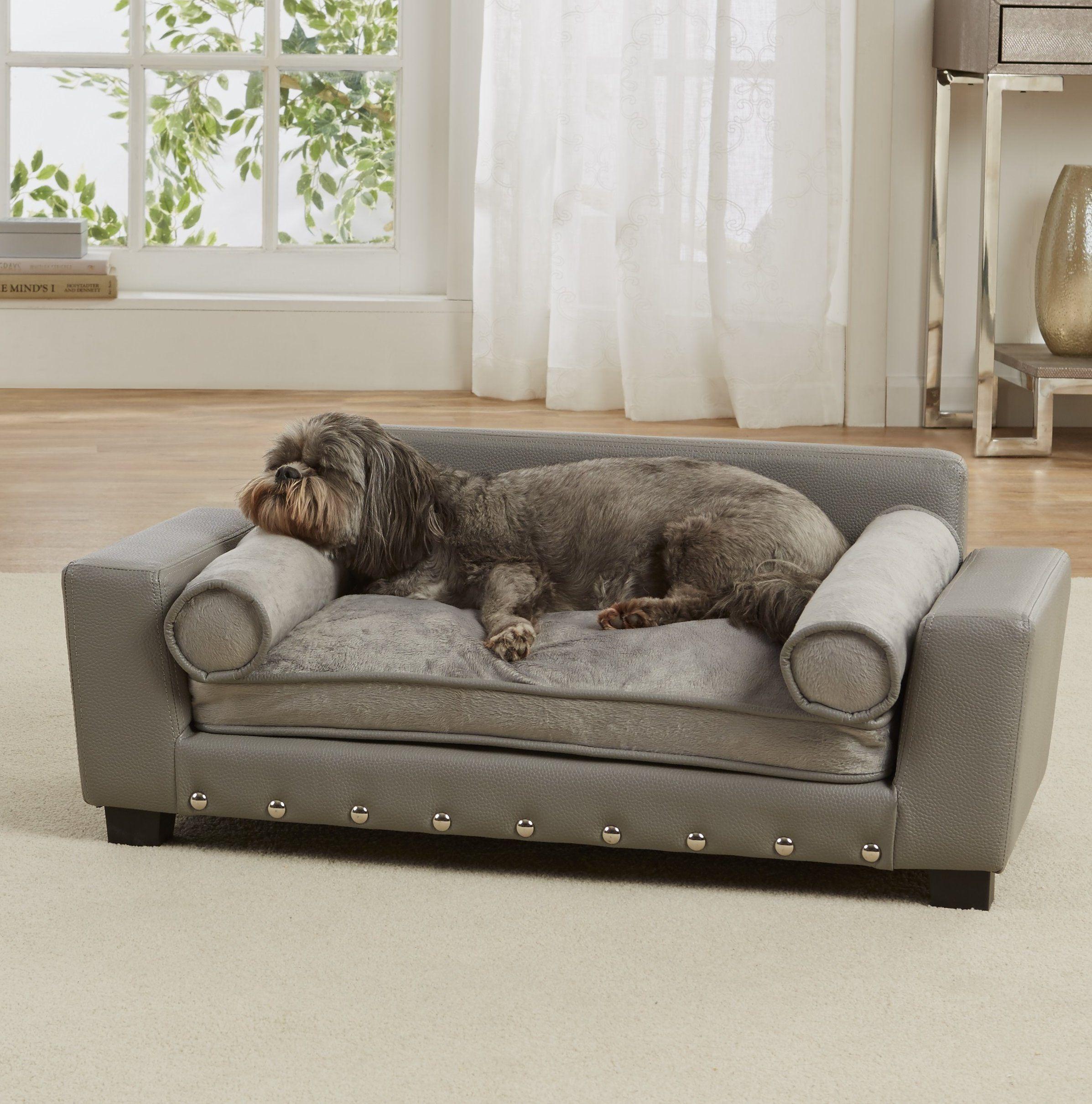 Corrine Dog Sofa With Cushion Camas Para Perros Casas Para Perros Cama Para Perro