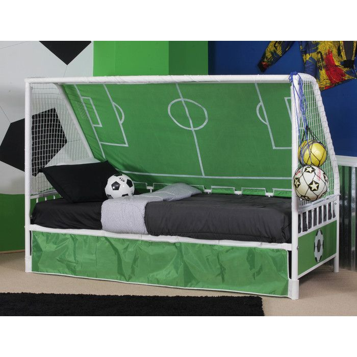 Childrens Football Bedroom Ideas: Powell Goal Keeper Daybed & Reviews