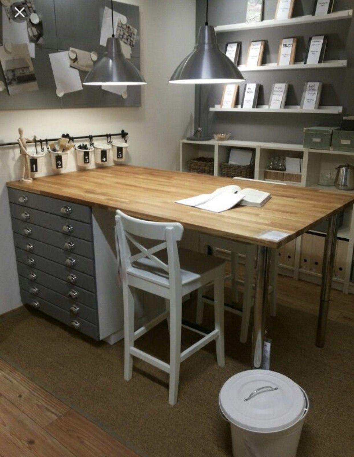 Worktable Ikea Sewing Rooms Ikea Craft Room Craft Room Design