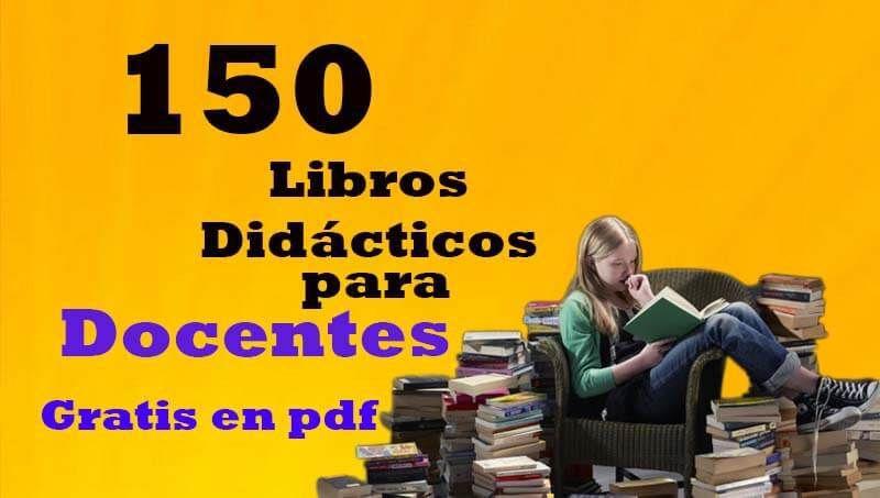 150 Libros Educativos En Pdf Gratis Para Docentes