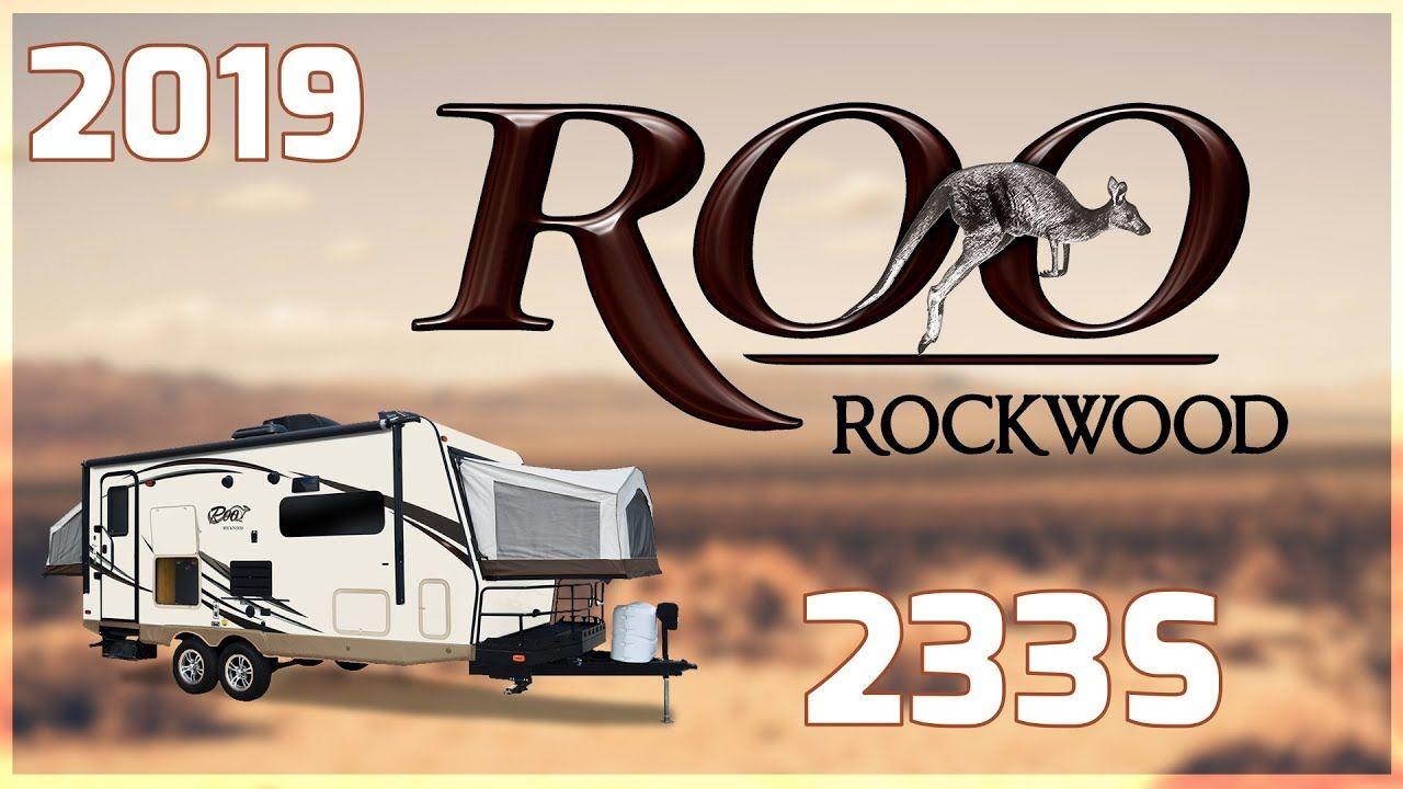 2019 forest river rockwood roo 233s hybrid trailer for
