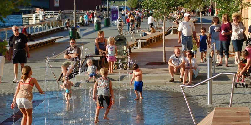 Green Bay City Deck Travel Urban park, Green bay, Park