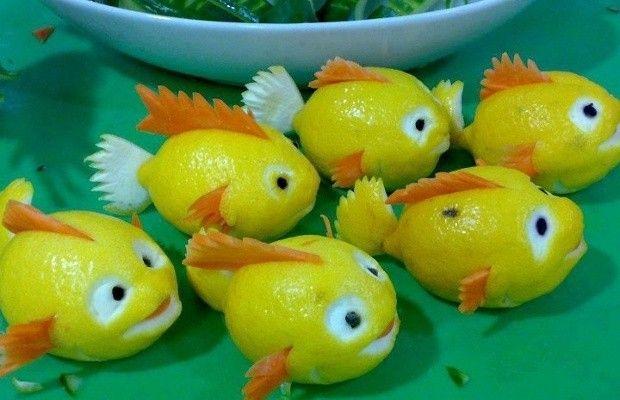Decorare Con La Frutta Limone Decorazioni Con La Frutta 20 Idee Da