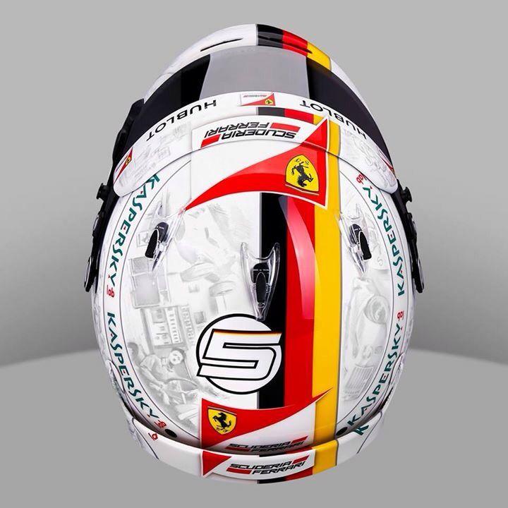 Vettel Helmet Design Mexico GP 2016