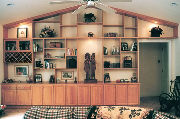 Custom Wall Units | All About Closets | Custom Entertainment Center