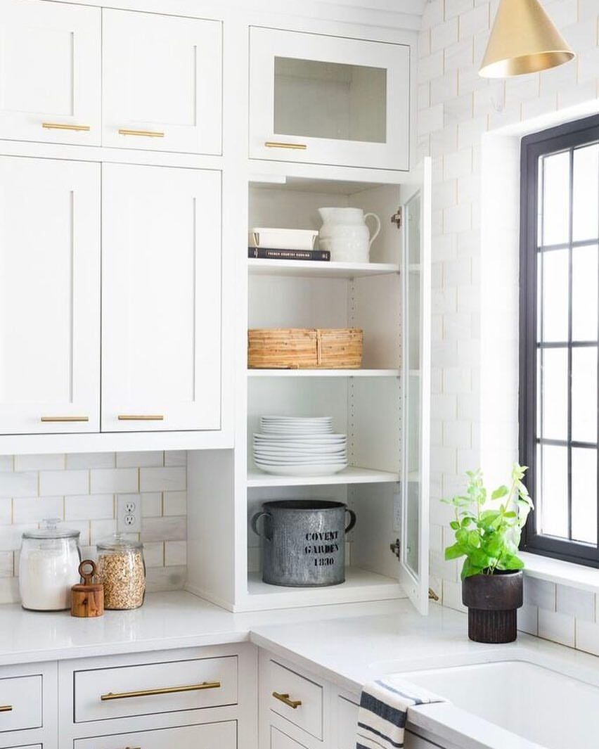 The Easiest Way To Renovate Your Kitchen: Using Greenery Is The Easiest Way To Create Texture And