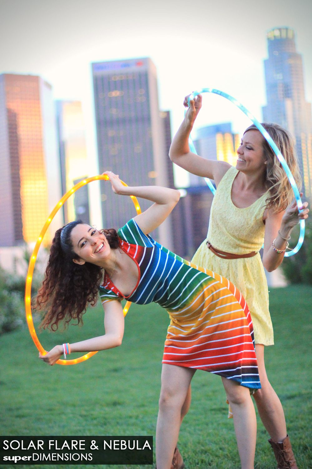 Morgan Jenkins And Rebecca Victoria With Hooptown Hotties Our Hula Hoop Led On Pinterest Hoops Nebula Solar Flare Color Polypro