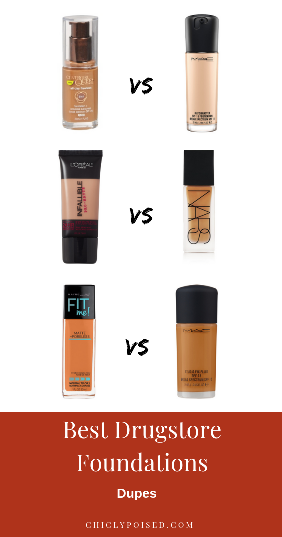 Best Drugstore Foundations Dupes Under 10 Dollars