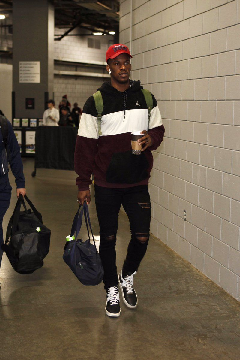 Jimmy Butler On The Casual Tip Mens Fashion Streetwear Nba Fashion Mens Casual Outfits