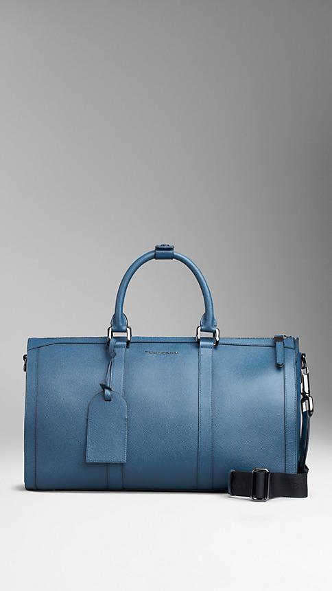 e2aa57681596 Medium London Leather Holdall