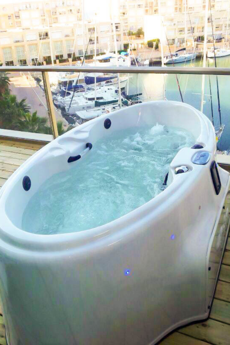 Small Balcony Hot Tub Small Hot Tub Coast Spas Hot Tub Swim Spa