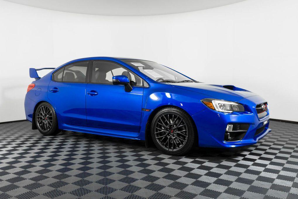 2016 Subaru WRX STi AWD Clean Carfax 2 Owner 6 Speed Sedan