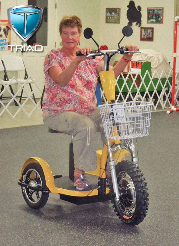 3 Wheel Electric Scooter Triad Vehicles 855 648 7423 S Triadmotion