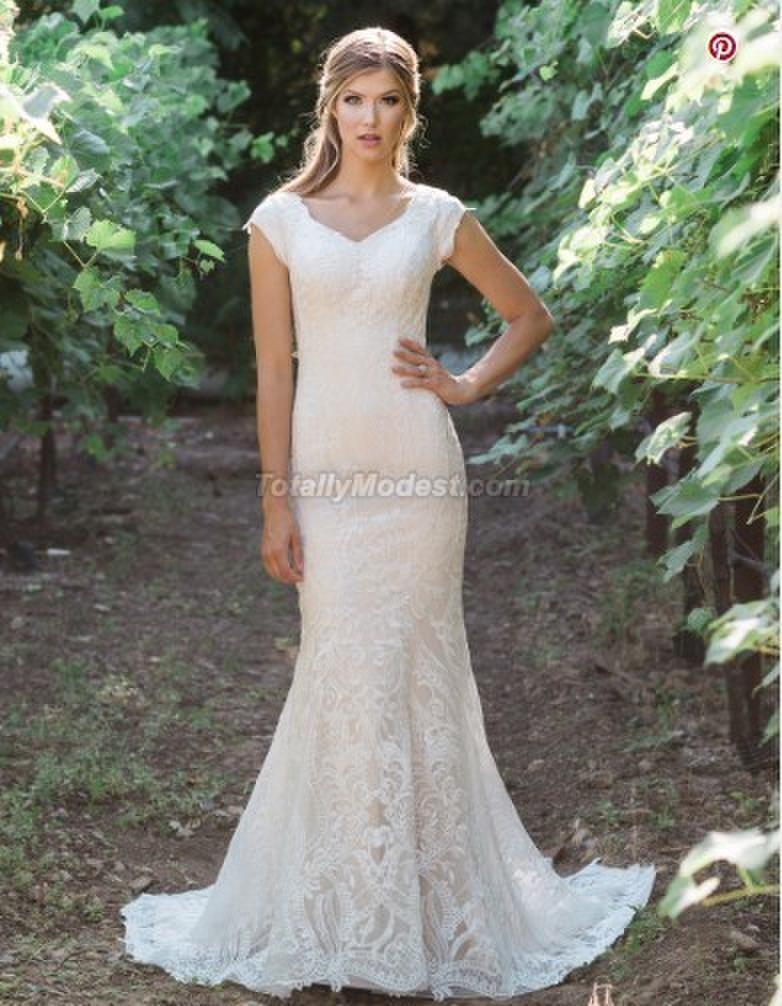 af094e411fb28 Modest Wedding Dress Coll. 5 Totally Modest WEDDING dresses, BRIDESMAID &  PROM dresses w/ sleeves