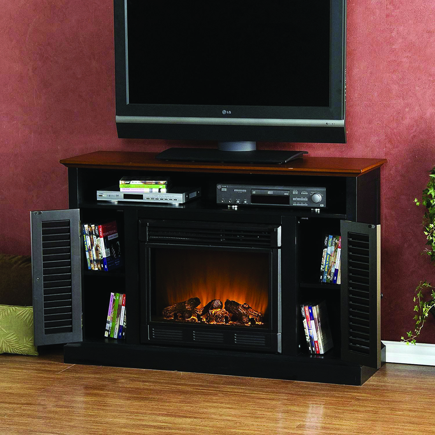 Terrific Fireplace Tv Stand Black Friday Sale One And Only