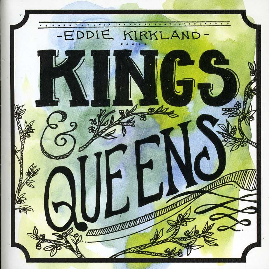 Handlettering on eddie kirklands kings queens album